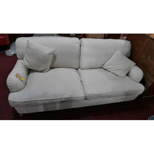 235 - A contemporary two seater sofa...