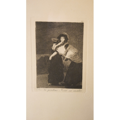 24 - Francisco Goya (1746-1828), Los Caprichos No.16, 'Dios La Perdone: Y Era su Madre', etching and aqua...