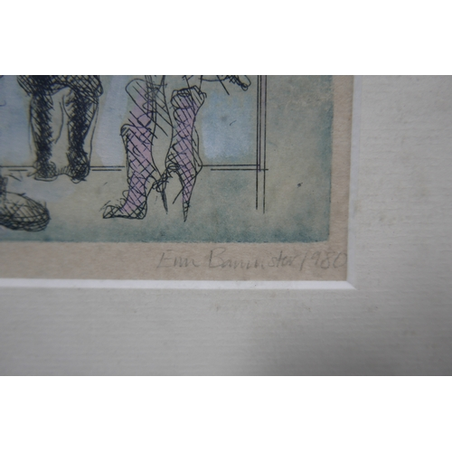 358 - Two 20th century etching by the same hand...