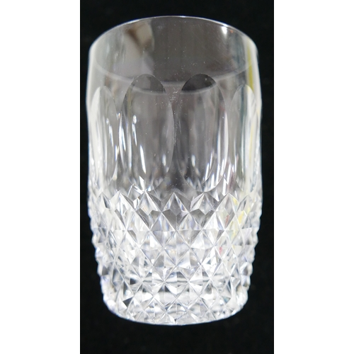 322 - A collection of 21 Waterford crystal drinking glasses...