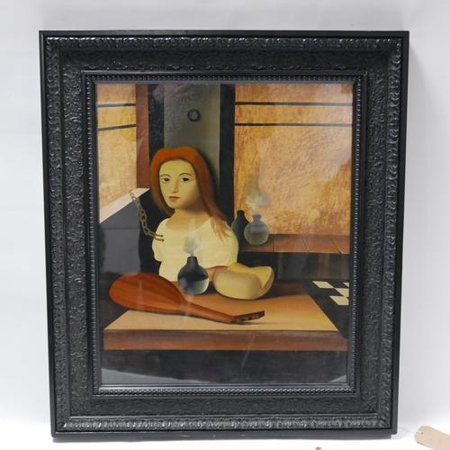 321 - Stuart McAlpine Miller (Contemporary British) 'Sympathetic Glimpse', oil on canvas, signed lower rig...