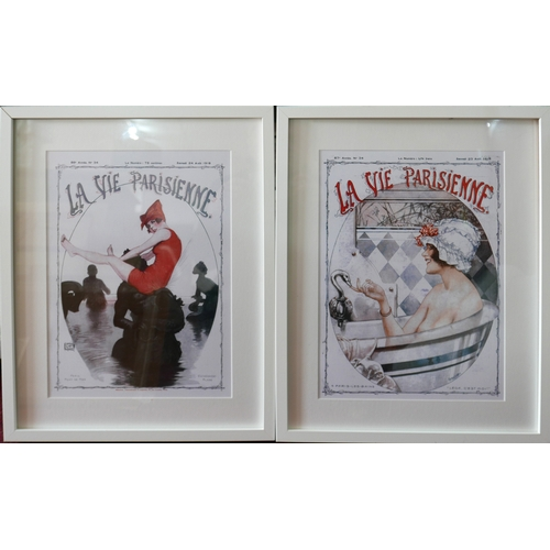 292 - Two French opera posters for La Vie Parisienne, 39 x 29cm...