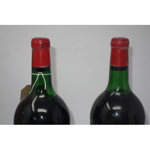 103 - Two bottles of 1970 Chateau Chauvin Saint Emilion wine...
