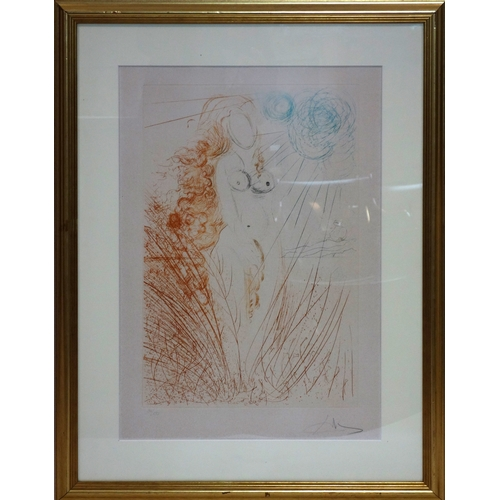 121 - Salvador Dali (Spanish, 1904-1989), 'The Birth of Venus', limited edition etching, numbered 34/150, ...