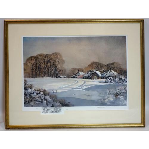 383 - Rowland Hilder (1905-1993), limited edition print 115/480, signed, with certificate to verso, 50 x 6...