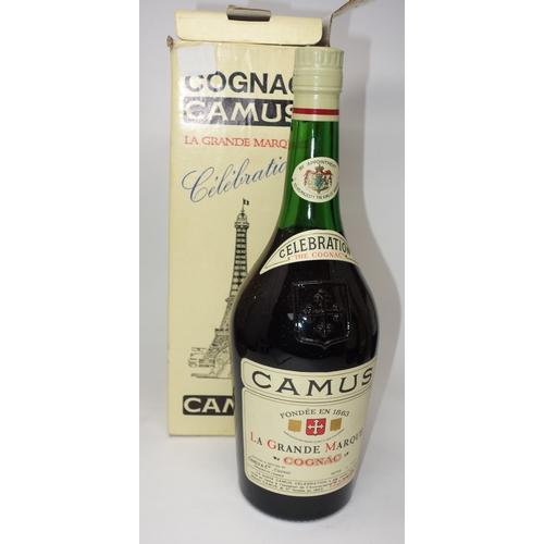 109 - A bottle of 1963 Camus Celebration Cognac la Grande Marque, in box...