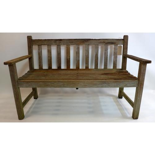 306 - A garden bench...