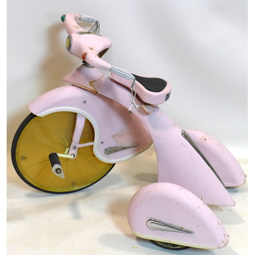 434 - A vintage AFC Airflow Sky Princess child's tricycle...