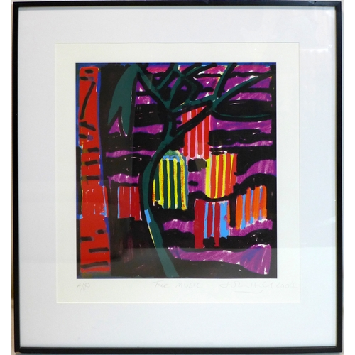 14 - John Hoyland RA (British, 1934-2011), 'The Music', giclee print, artist's proof, signed and dated 20...