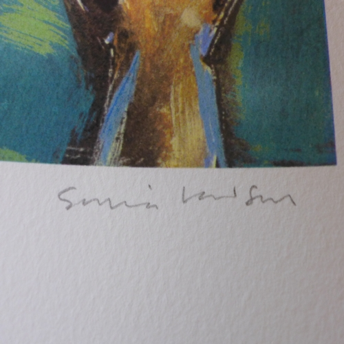 34 - Sonia Lawson RA (Born 1934), two limited edition prints, signed and numbered 10/50 and 11/50 in penc...