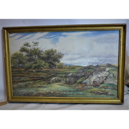 15 - James Orrock RI. ROI (1829-1913), landscape, watercolour, signed and dated 1882, with Christie's lab...