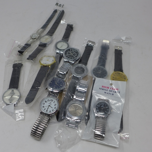 58 - A collection of gentleman's dress watches...