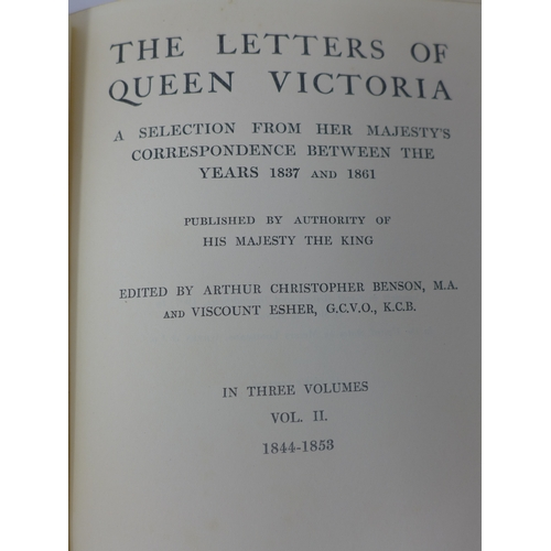 96 - Letters of Queen Victoria - 1837-1861, Vol II, edited by Arthur Christopher Benson and Viscount Eshe...