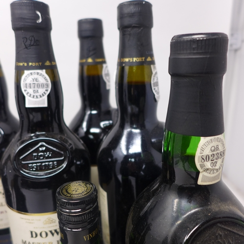 111 - A mixed lot of port, to include 4 bottles of Dow's Master Blend Finest Reserve Port; 1 bottle of Dow...