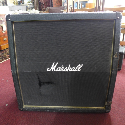 310 - A large Marshall amplifier, H: 69 x W: 66 x D: 35cm...