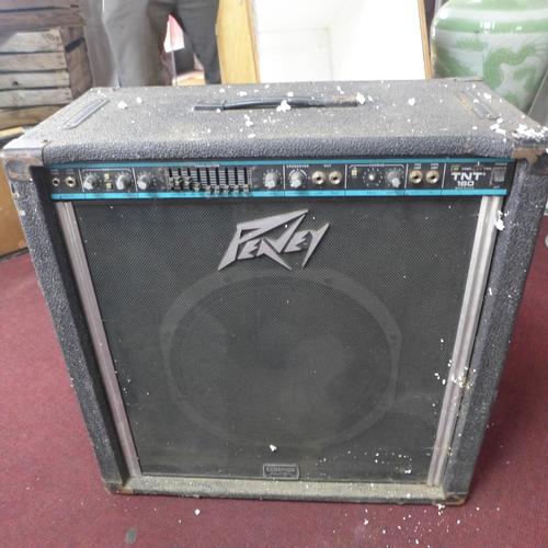 325 - A cased Peavey amplifier, H: 71 x W: 73 x D: 40cm...