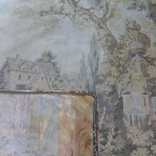 283 - An early 20th century tapestry, 132 x 256cm...