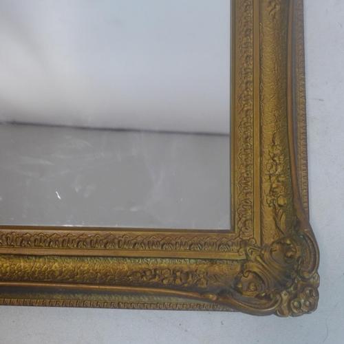 37 - A modern gilt mirror,  83 x 104cm...