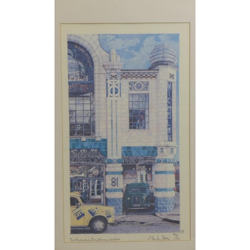 207 - Alastair Howie, 'The Michelin Building, London', limited edition colour print, signed and dated in p...
