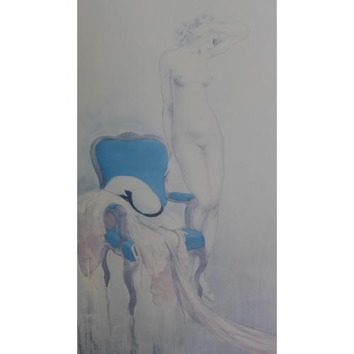 222 - A Louis Icart print, 54 x 33cm...