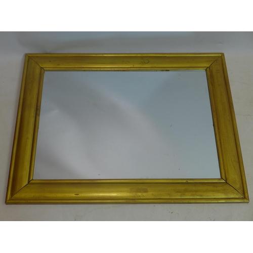 582 - A contemporary gilt mirror, 67 x 88cm...