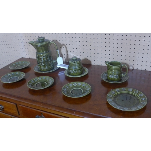635 - A Lord Nelson pottery tea set...
