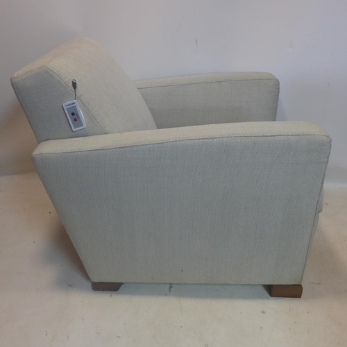 541 - A Pierre Frey upholstered armchair...