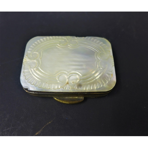 630 - A collection of 6 mother of pearl-inlaid trinket boxes to include a 19th century carved mother of pe...