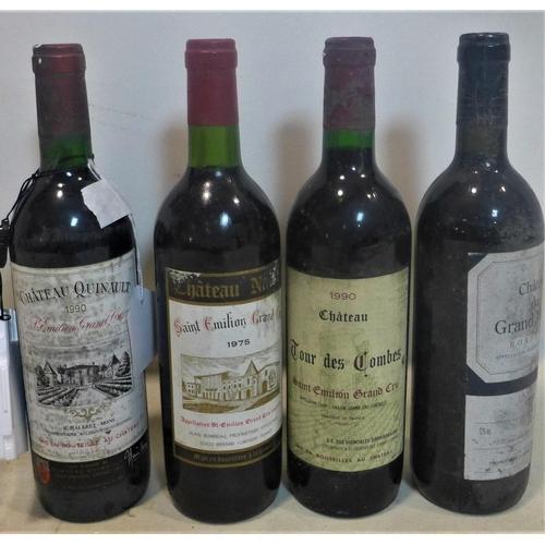 218 - 1996 Château du Grand Maine, Bordeaux, together with 1990 Château Tour des Combes, Saint-Emilion; 19...