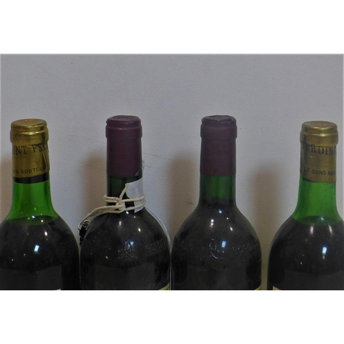 241 - 2 bottles of 1985 Château La Prioulette, Bordeaux, together with 2 bottles of 1971 Château La Tour C...