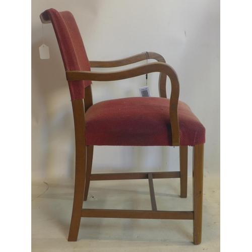 203 - A vintage oak armchair by Verco...