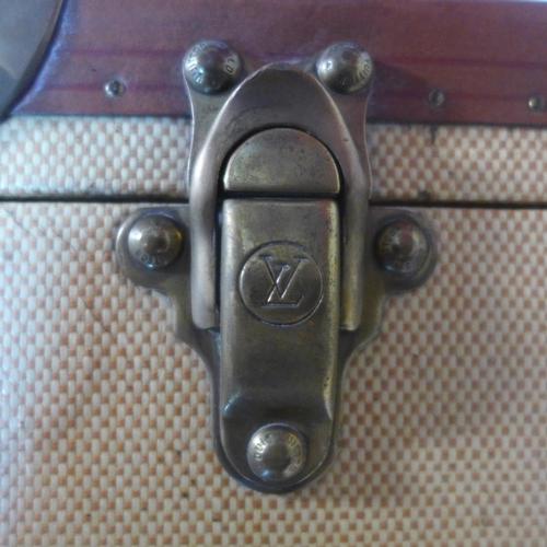 267 - A 1930's Louis Vuitton travelling writers case, H.24 W.65 D.46cm...