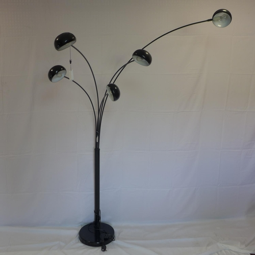 518 - A 'Giraffe' 5 light standard lamp...