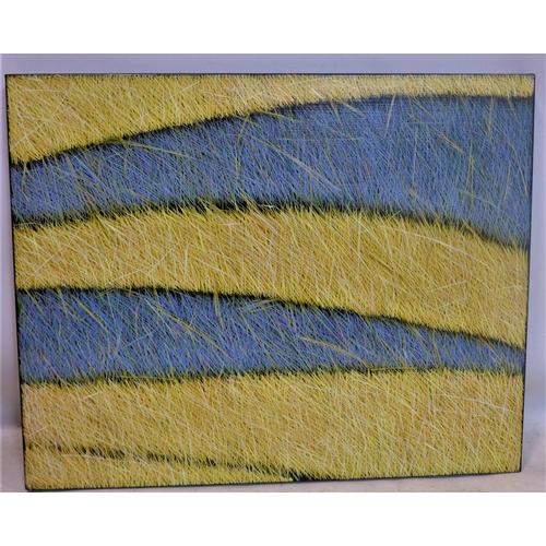 26 - Yvonne Mills-Stanley (Contemporary artist), 'Autumn Field I', oil on linen, 61 x 76cm...