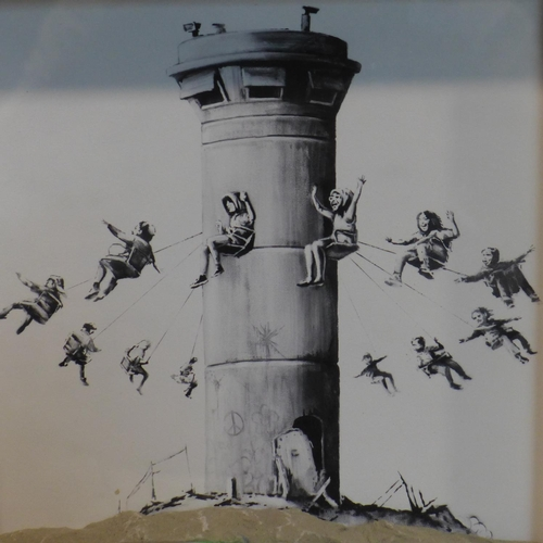 126 - Banksy (British, b.1974), 'Walled Off Hotel Box Set, Bethlehem, Palestine, 2017', print and concrete...