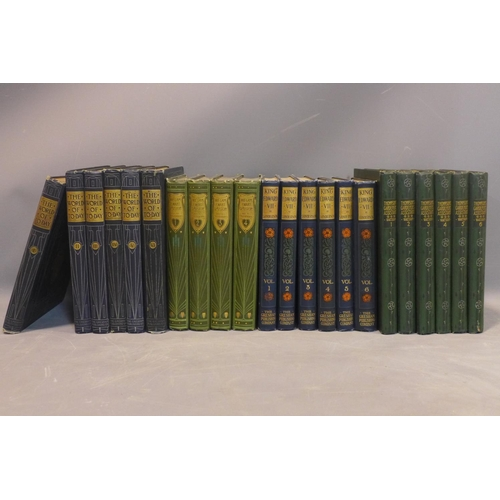 9 - Talwin Morris (1865-1911), A collection of Art Nouveau Bindings, circa 1900 folio/4to - Quantity (22...