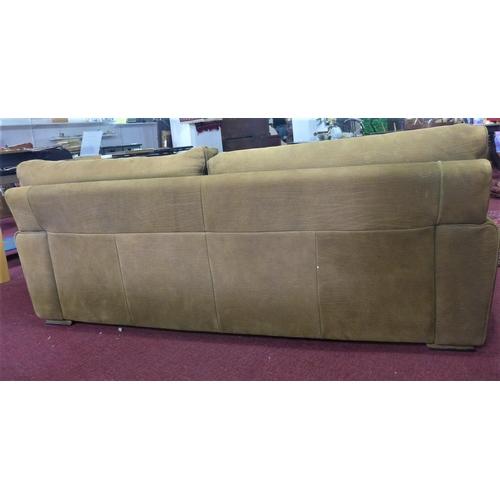 78 - A Roche Bobois nubuck upholstered sofa, H.71 W.205 D.92cm...