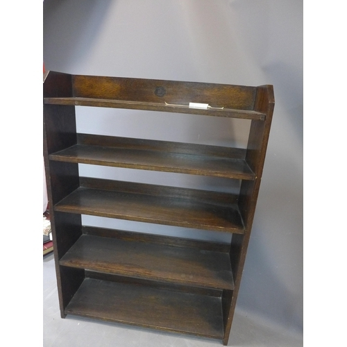148 - Contemporary shelving Unit or dresser, hardwood, H. 110 x  W.76 x D.23 cm...