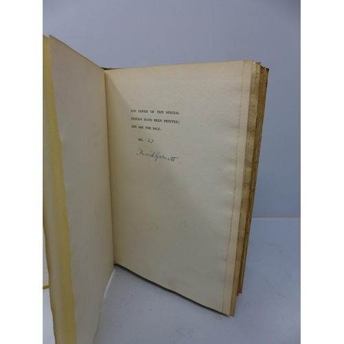 15 - David Garnett, 'The Grasshoppers Come', published by Chatto & Windus, London 1931, 210 copies of thi...