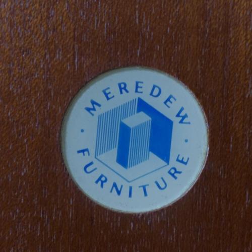 645 - 1970s Teak Wardrobe Cabinet, H.130x W.93 x D.45...