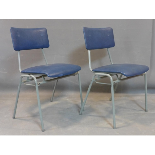 701 - A set of 12 Remploy chairs (12)...