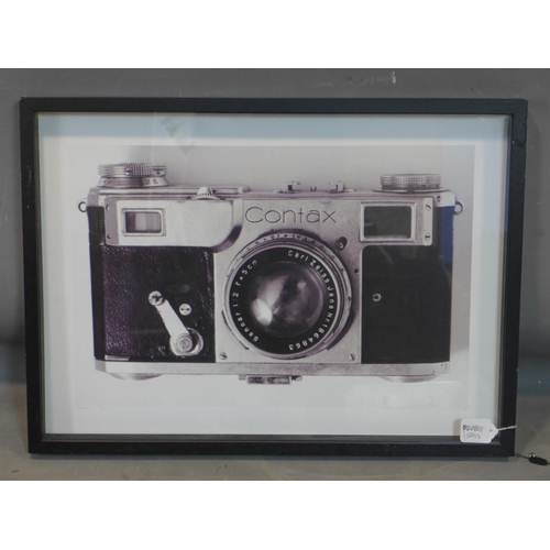 703 - Anthony Nobilo, 'Contax II', limited edtion print of a camera, signed, titled, dated 2015 and number...