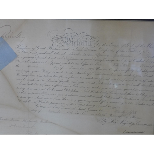 728 - Three 19th and 20th century documents: Roll Call of the Great War, Private R. W. Blick, dated Septem...