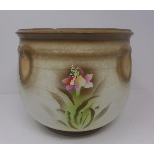 503 - 1970's creme vase...