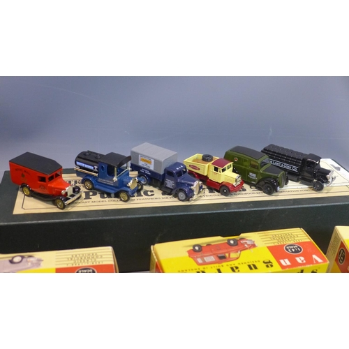 516 - A collection of diecast to cars, to include Vanguards, Lledo, Hamleys, Days Gone 'The Public Service...