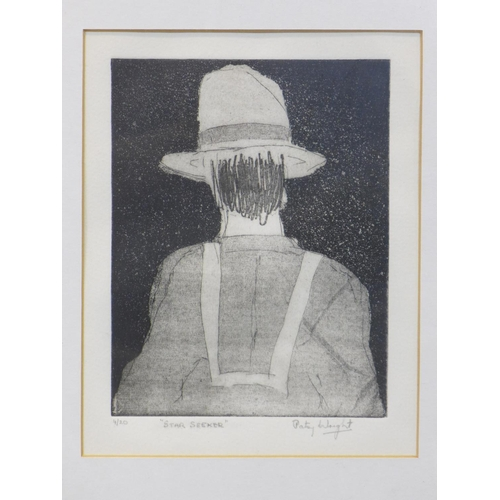 305 - Patricia Wright (British, 1919 - 2019), 'Star seeker', etching, 40 x 33 cm...