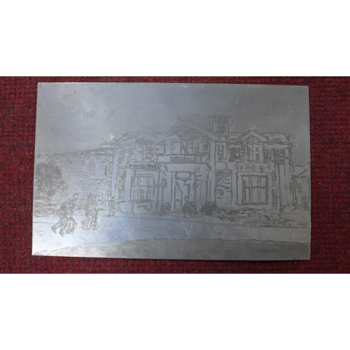 314 - Patricia Wright (British, 1919 - 2019), Sixty-two etched metal plates, various dimensions, max. 28 x...