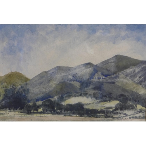 4 - Pair of original landscape watercolours. each print measure 45x53cm...