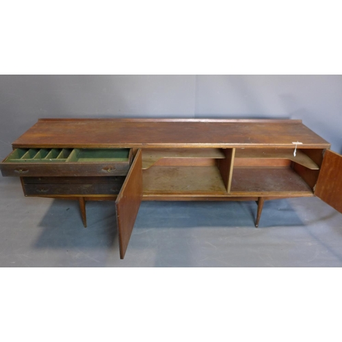 25 - A mid century teak sideboard designed by Robert Heritage (b.1927) for Archie Shine Ltd, c.1958, same...