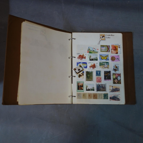 41 - A good collection of worldwide stamps from the 19th century and later to include 3 penny reds, conta...